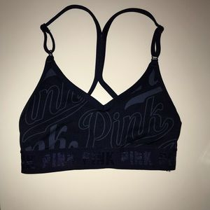 Sports bra from pink